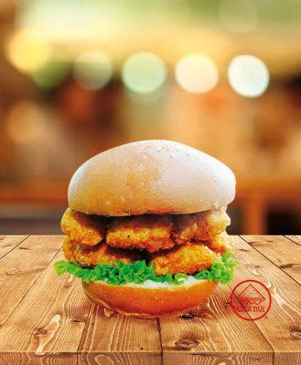 Burger Tôm 2 Tầng