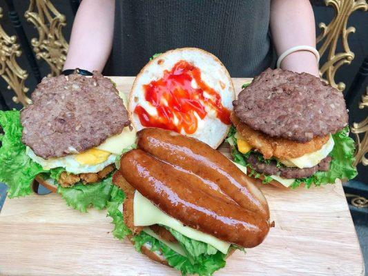 Bộ 3 Burger